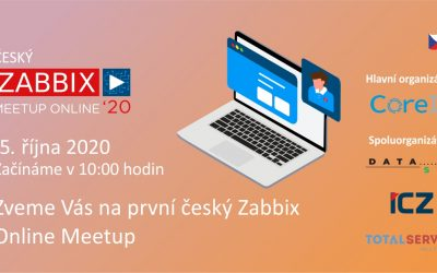 THE FIRST CZECH ZABBIX ONLINE MEETUP